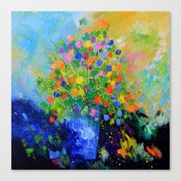 Colourful still life Canvas Print