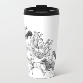 Ink Thoughts Three Travel Mug