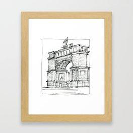 Arch D'Triumph Framed Art Print