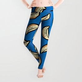 Gyoza Dumpling Pattern Leggings