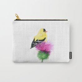 Little Goldfinch by Teresa Thompson Carry-All Pouch