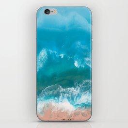I Dream of Turqouise Seas iPhone Skin