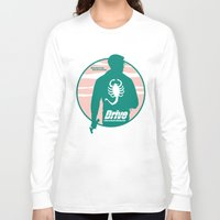 drive Long Sleeve T-shirts featuring DRIVE by Alain Bossuyt