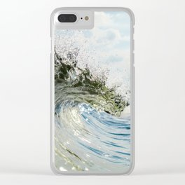 Jersey Glass Clear iPhone Case