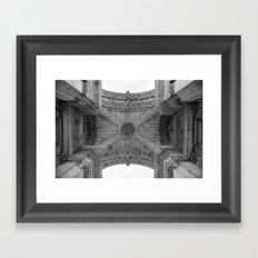 Arco da Rua Augusta Framed Art Print