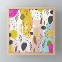 Expression: Colorful Abstract Art Playful Floral Pattern by gardenofdelights