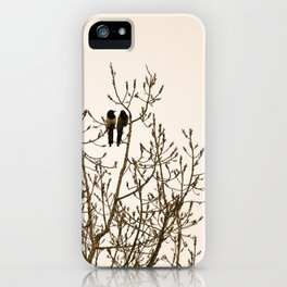 A quiet moment iPhone Case