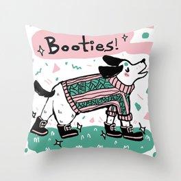 Pastel Pup Throw Pillow
