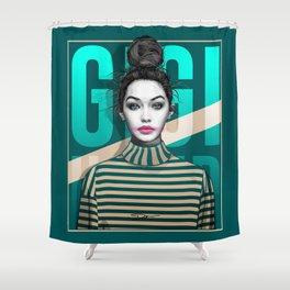 Gigi Hadid Shower Curtain