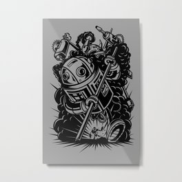 Gigantic Wars Metal Print
