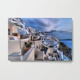 Santorini 12 Metal Print