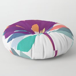 alstroemeria 2 Floor Pillow