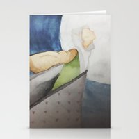 dragon age inquisition Stationery Cards featuring Come not to a place of Pride (Solas from Dragon Age Inquisition) by Amanda Draws Things