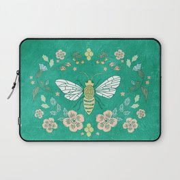 Bee Garden Laptop Sleeve