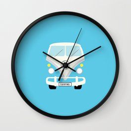 Surf's Up Beach Mobile Wall Clock