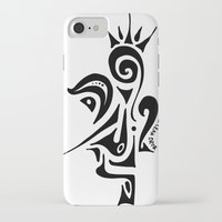 crown iPhone & iPod Cases featuring Crown by Dror Designs