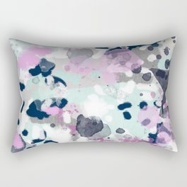 Berti - abstract minimal trendy color palette hipster home decor Rectangular Pillow
