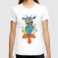 mushroom T-shirts featuring mushroom by Zura