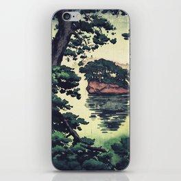 Autumn Rain in Yama iPhone Skin
