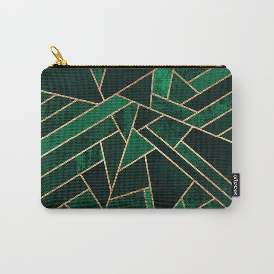 Emerald Night Carry-All Pouch
