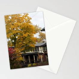 The Changing Leaves Stationery Cards