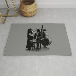 The Invisibles (On Grey) Rug
