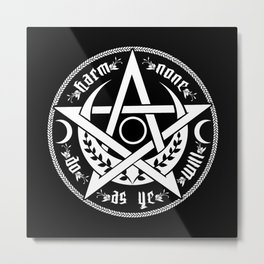 DO AS YE WILL Metal Print