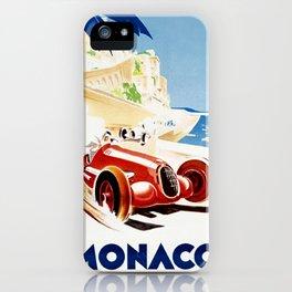 Monaco 1937 Grand Prix iPhone Case