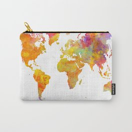 world map 23 Carry-All Pouch