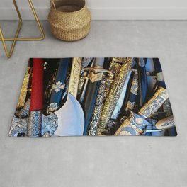 Cold Steel Arms Rug