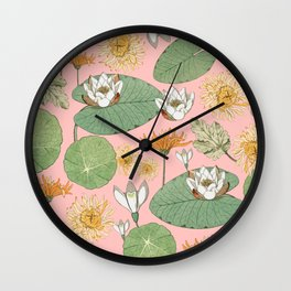 Vintage Royal Gardens #society6artprint #buyart Wall Clock