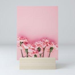 Blush Pink Flowers Mini Art Print