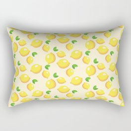 Lemon limon seamless art colour lines triangle look rest eyes color new artist fun mixed pattern swe Rectangular Pillow