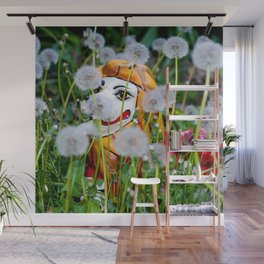 Dandy Lion Wall Mural