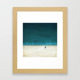 2011-08 Mélanie Framed Art Print