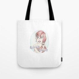 Mermaid Against Misogyny Tote Bag