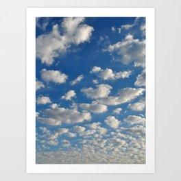 Cloud Inspiration Art Print
