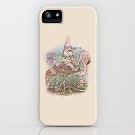 Journey Through The Garden iPhone Case