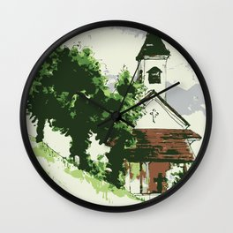 Austrian Chapel Wall Clock