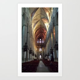 Cathedral loneliness Art Print