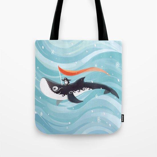Grandpa Orca Tote Bag