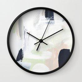 Sand & Sage Wall Clock
