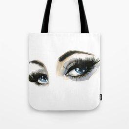 Blue Eyes Tote Bag