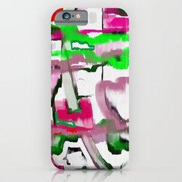 Hors réalité iPhone Case
