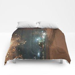 Winter Storm Warning Comforters