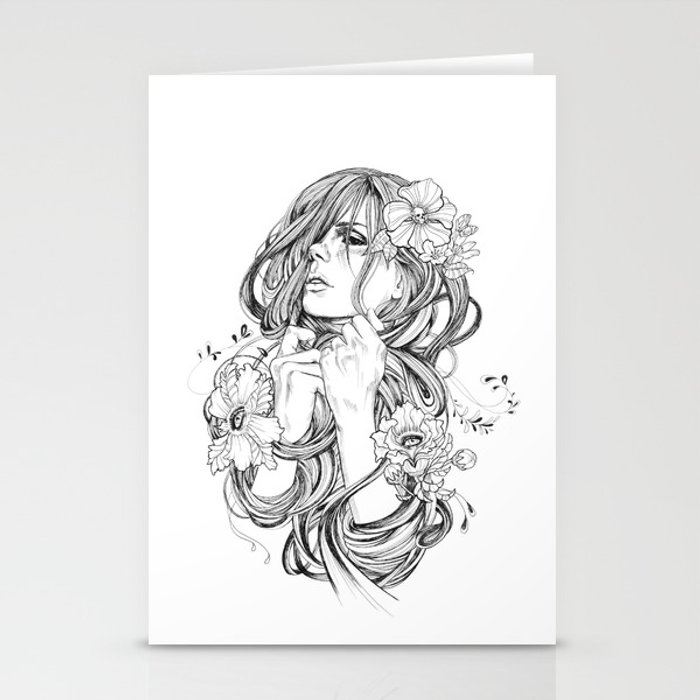 From A Tangled Dream Stationery Cards