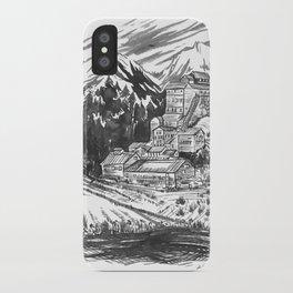 River Copper Mine iPhone Case