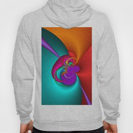 colorful and fractal -102- Hoody