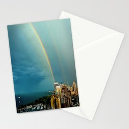 Somewhere Over Chicago Stationery Cards