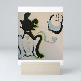 Toothless and the light fury Mini Art Print